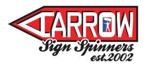 Aarrow Sign Spinners main logo