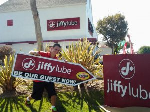 AArrow Los Angeles Sign Spinning for Jiffy Lube post cover image