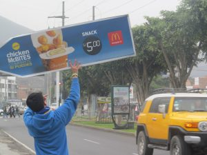AArrow Peru Sign Spinning for McDonald's Chicken McBites post cover image