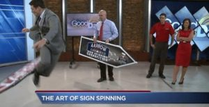 The Art Of Sign Spinning post cover image