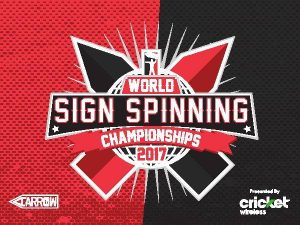 Big News for 2017 World Sign Spinning Championships post cover image