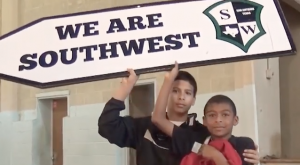 Student Sign Spinners Promotes Anti Bullying post cover image