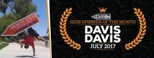 Davis Davis Announced as July's Spinner of The Month post cover image