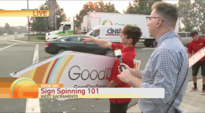 Spinning 101 With Good Day Sacramento post cover image