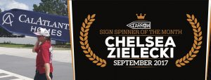 Chelsea Zielecki named September's Spinner of The Month post cover image