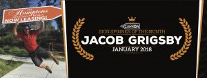Jacob Grigsby Named January's Spinner of the Month post cover image