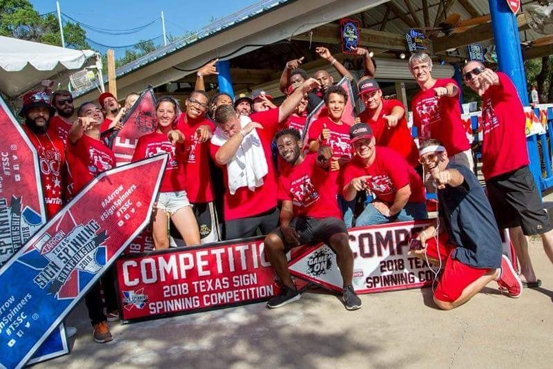 2018 TSSC Texas SIgn Spinning Competition
