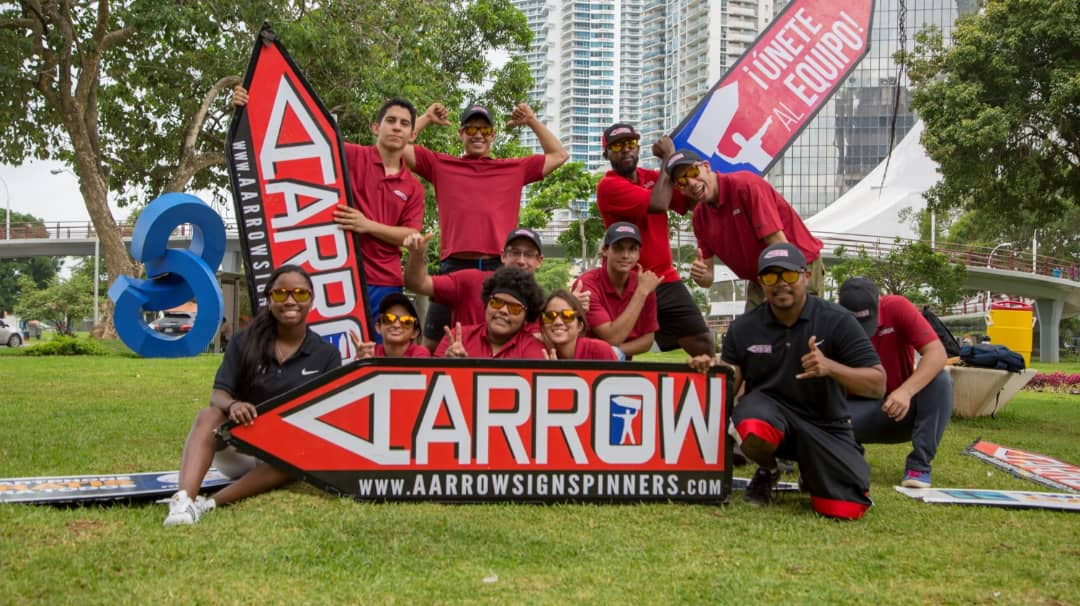 AArrow Sign Spinners