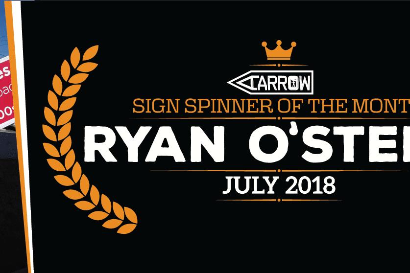 Ryan O'Steen Sign Spinner
