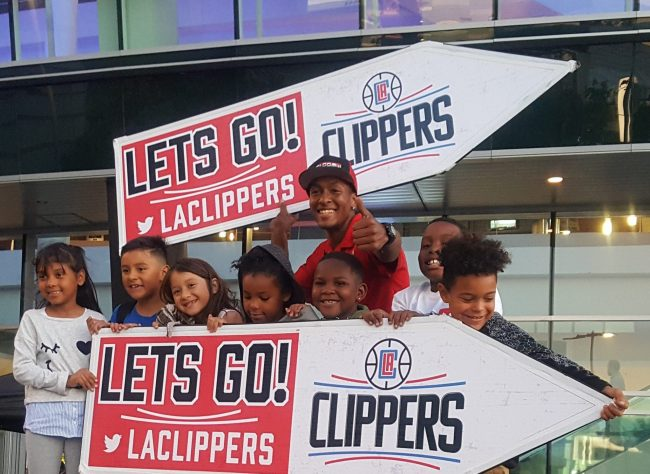 Go La Clippers Sign Spinner