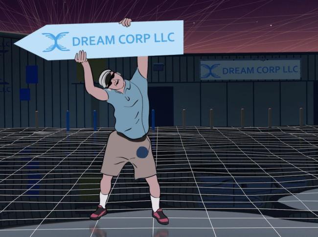 Dream Corp Sign Spinner