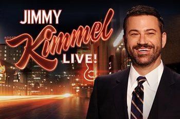 Sign Spinner for Jimmy Kimmel