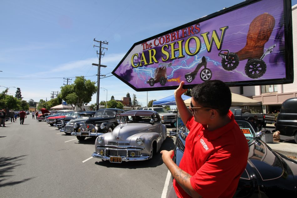 The cobblers car show is there