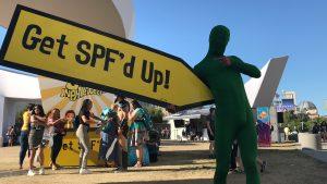 SIgn Spinner for Get SPF'd Up!