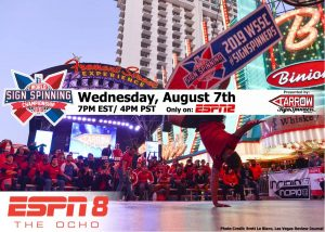 ESPN covering The 2019 AArrow World Sign Spinning Championships! post cover image