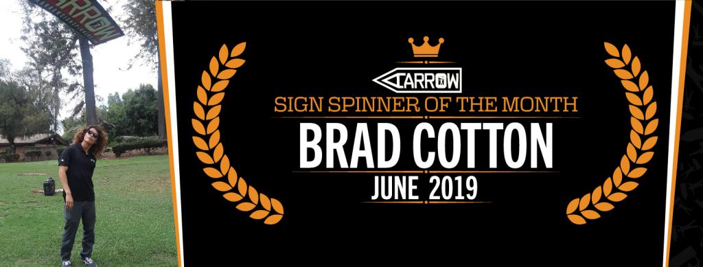 Brad Sign Spinner