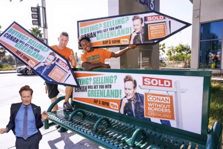 Sign Spinners for Conan