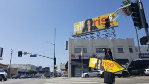 CBS hired AArrow Sign Spinners to promote new show, All Rise. post cover image