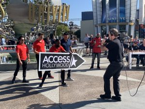 Access Hollywood hosts the 2019 West Coast Sign Spinning Championship at Universal Studios! post cover image