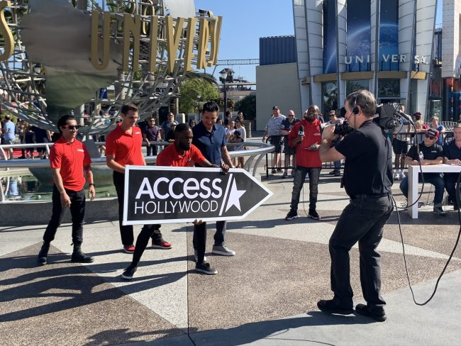 Access Hollywood Sign Spinning Championship