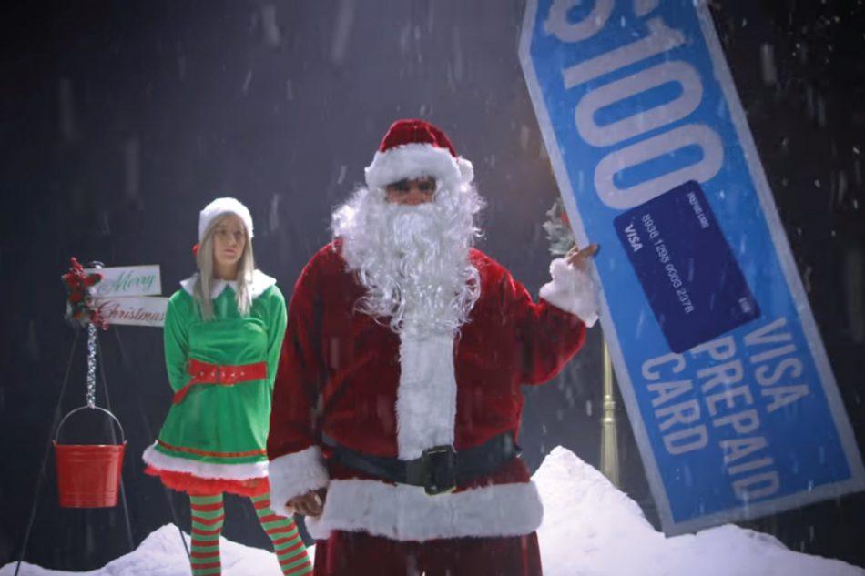 Santa Sign Spinner Doolan