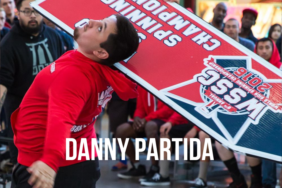 Sign Spinner of the month - Danny Partida