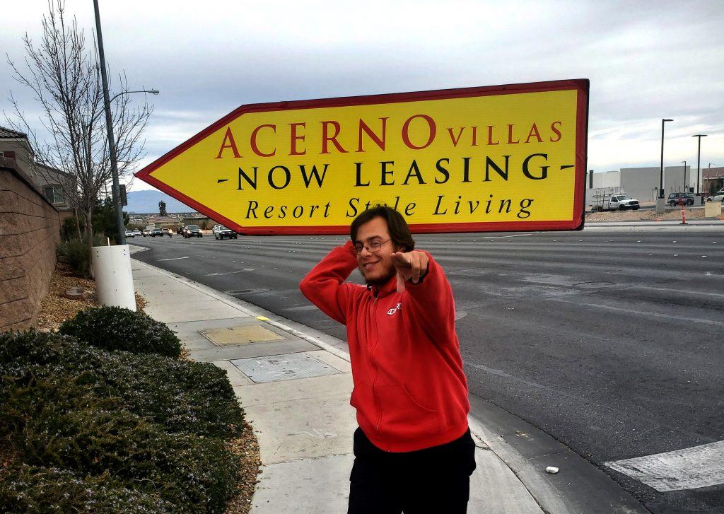 Jose Gonzalez The Sign Spinner