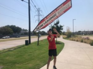 August 2020 Sign Spinner of the Month