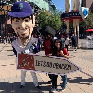 Sign Spinner for Arizona Diamondbacks