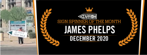 December Sign Spinner of the Month!