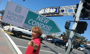Sign Spinner New Condos