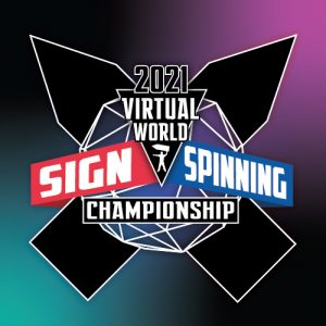 The 2021 Virtual World Sign Spinning Championship post cover image