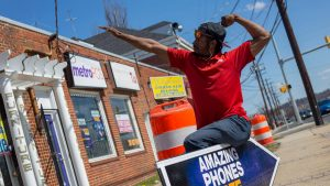 Baltimore Sign Spinner