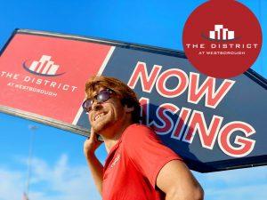 Apartment Guerilla Marketing Sign Spinner Texas