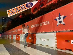 Signs Spinning for Houston Astros