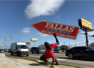 Texas Sign Spinners for Fallas