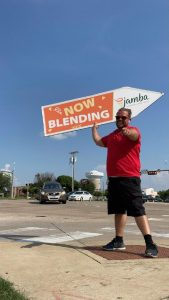 No, Really! – Jamba Juice Hired a Sign Spinner! post cover image
